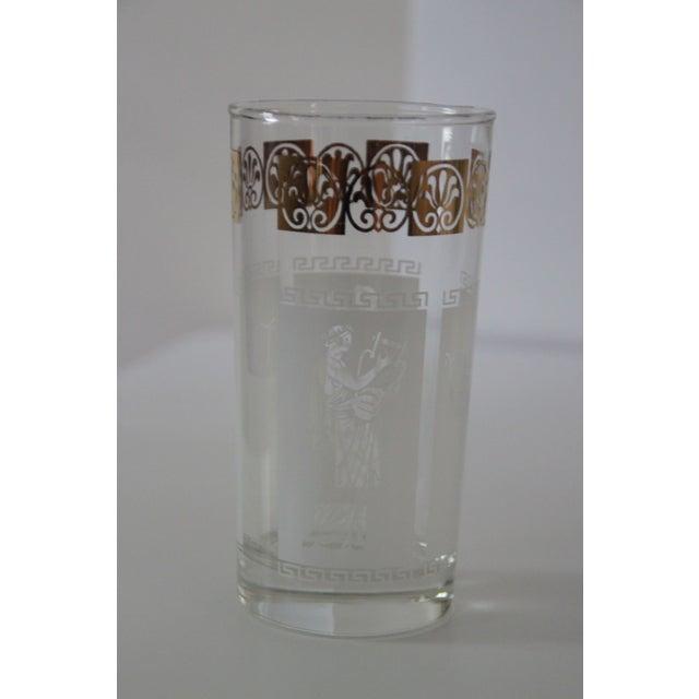Vintage Greek Glasses - Set of 5 For Sale - Image 5 of 5