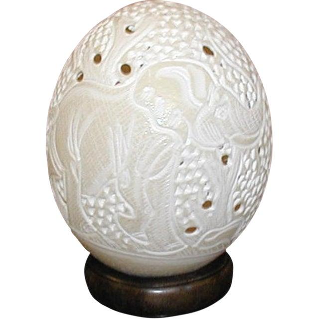 Full Carved Egg - Image 1 of 5