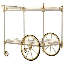 Image of Maison Jansen Bar Carts and Dry Bars