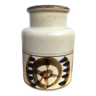 Vintage Mid-Century Danish Modern Art Pottery Vase For Sale