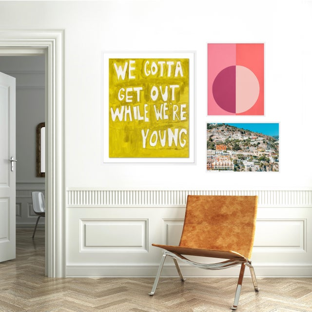 Contemporary Sunkissed Gallery Wall, Set of 3 For Sale - Image 3 of 10