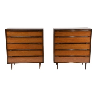 Mid-Century Modern-style Bachelor Chests - a Pair