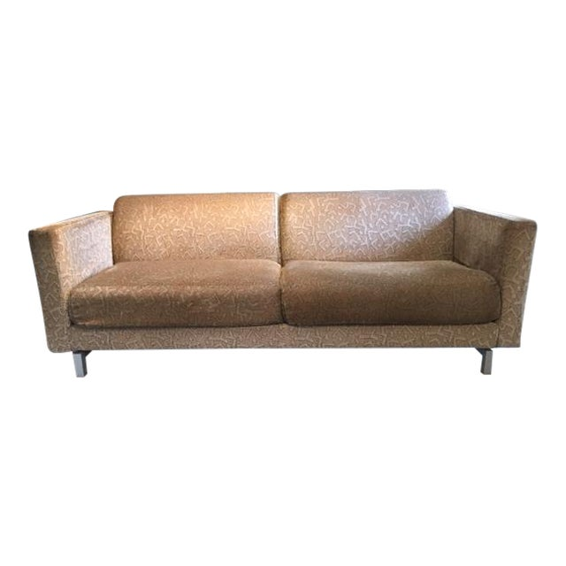 "Sofa Pair: Two Hannes Wettstein ""Norman"" Baleri Italia Sofas For Sale"