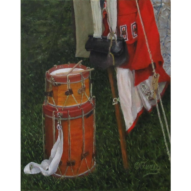 """""""Lost Drummer"""" Original Oil Painting For Sale"""