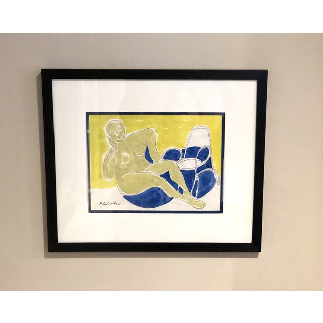 Mid-Century Abstract Painting For Sale - Image 11 of 12