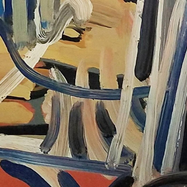 A 20th Century abstract still life by Daniel Clesse, painted in Montpellier, France in 1970. Daniel Clesse was a French...