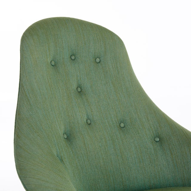 Mid 20th Century Pair of Kerstin Horlin Holmquist Lilla Eva Armchairs, Sweden, 1950s For Sale - Image 5 of 7