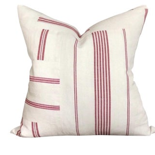 Beaumarchais Patchwork Red Pillow For Sale
