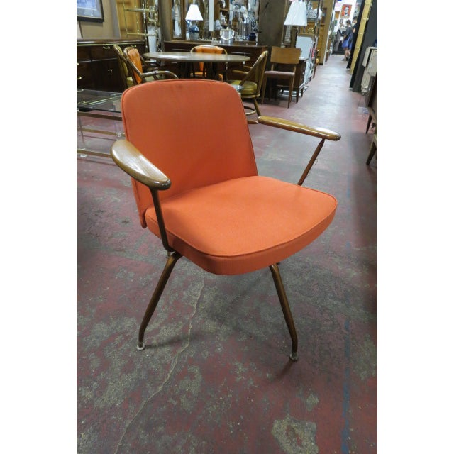 1960s Vintage Mid Century Modern Viko Baumritter Swivel Chair For Sale - Image 5 of 7