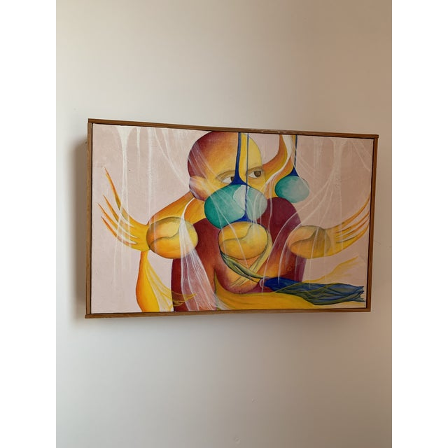 1990s Magical Realist Contemporary Painting For Sale In Chicago - Image 6 of 6
