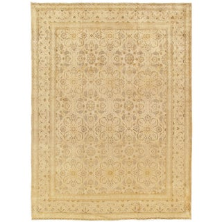 """Pasargad Home Kashan Collection Area Rug - 10'3"""" X 13'9"""" For Sale"""