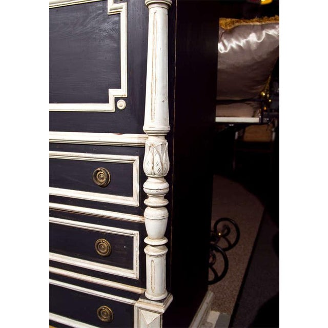 Swedish Gustavian Style Secretary Drop-Front Desk For Sale In New York - Image 6 of 10