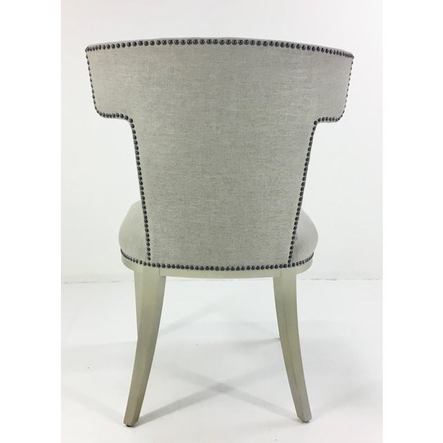 Caracole Uptown Klismos Dining/Desk Chair For Sale In Atlanta - Image 6 of 7