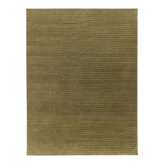 Contemporary Wool Hand Knotted Rug - 10' X 13' For Sale