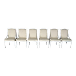 Ej Victor Luxar Dining Arm Chairs - Set of 6 For Sale
