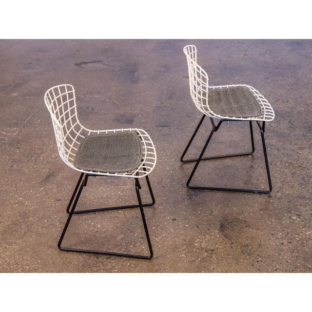 Harry Bertoia Baby Bertoia Chairs - a pair For Sale - Image 4 of 9