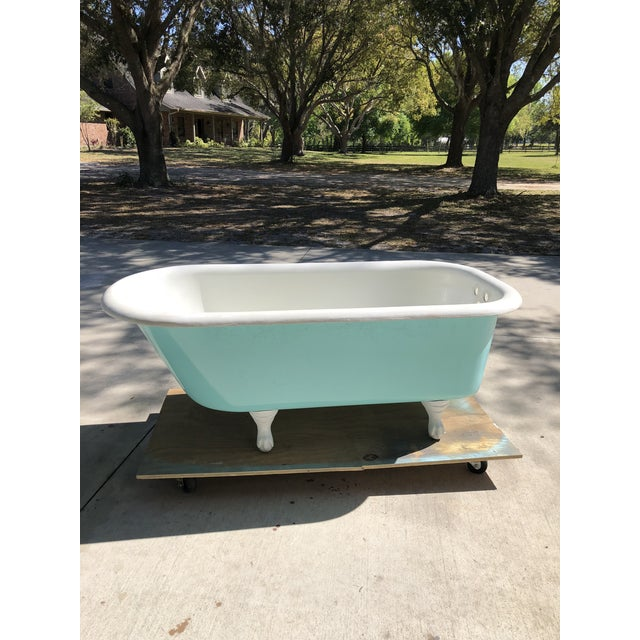 Antique Cast Iron Claw Foot Tub | Chairish