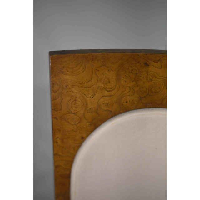 1960s 1960s Hollywood Regency Amboyna Wood Dining Chairs by Mastercraft - Set of 6 For Sale - Image 5 of 13