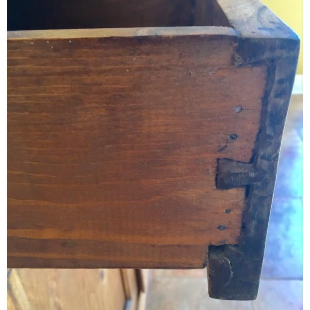 Brown 19th Century French Country Cherry Cabinet For Sale - Image 8 of 13
