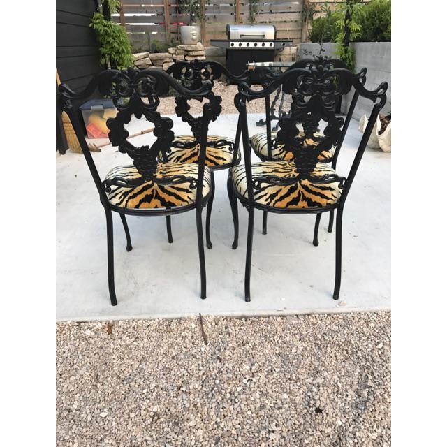 French Garden Chairs - Set of 4 - Image 6 of 6
