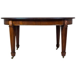 Dining Table with an Extendable Top from the Turn of the 19th and 20th Centuries For Sale