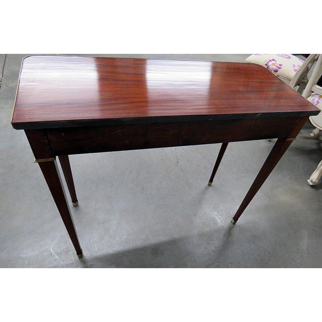 Directoire Style Console Table For Sale In Philadelphia - Image 6 of 7