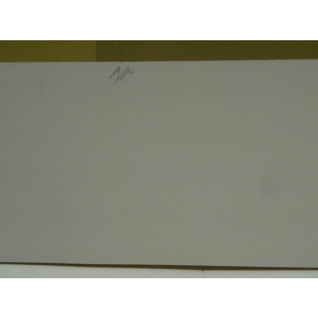 """Limited Signed Artists Proof Print """"Trylon"""" Mike Kutchner For Sale In Pittsburgh - Image 6 of 7"""