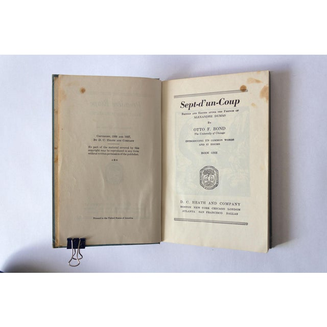 """1930s """"Premiere Etape: Basic French Readings"""" French School Book For Sale - Image 5 of 11"""