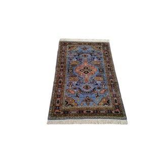 Vintage Persian Ardebil Handmade Rug - 2′8″ × 4′6″ - Size Cat. 3x5 For Sale