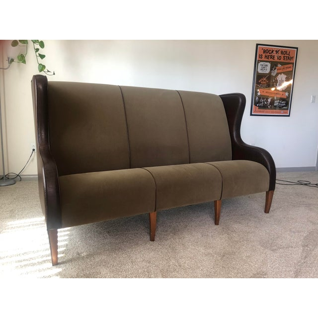 Vintage Fendi Highback Sofa For Sale - Image 11 of 11
