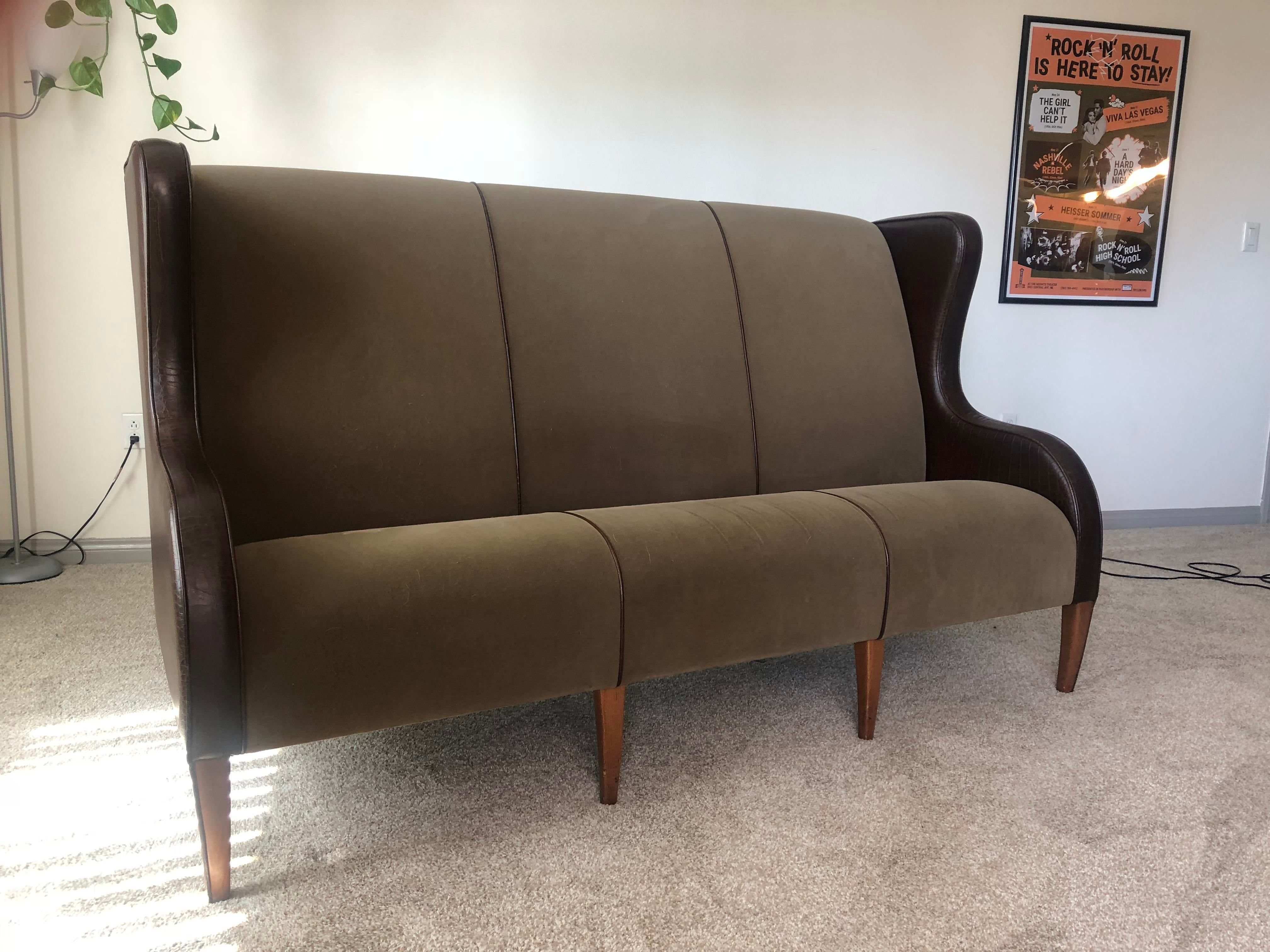 Vintage Fendi Highback Sofa For Sale   Image 11 Of 11