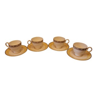 Villeroy & Boch Cannes Cups and Saucers - Set of 4