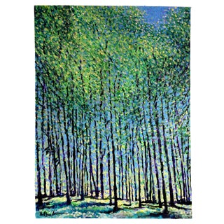 Sapling Forest Painting For Sale