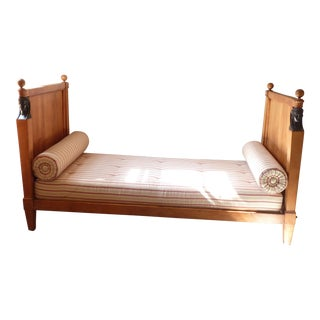 French Empire Style Daybed For Sale