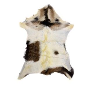 """Handmade Goat Skin Pelt - 2'2"""" x 2'10"""""""