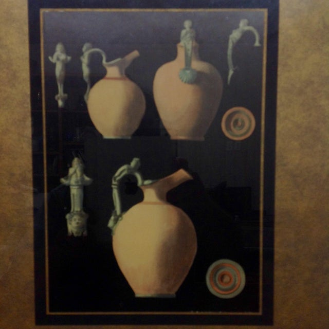 Ancient Roman Ceramics Lithograph - Image 3 of 5