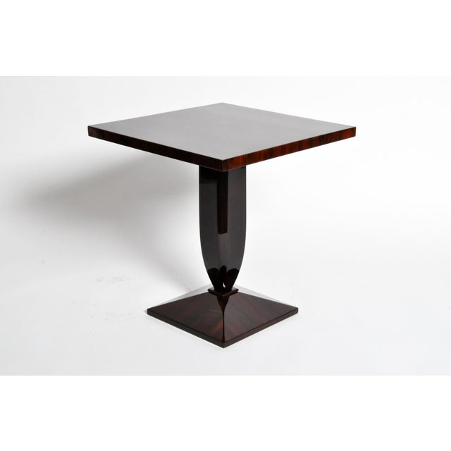 Art Deco Style Square Side Table For Sale - Image 4 of 11