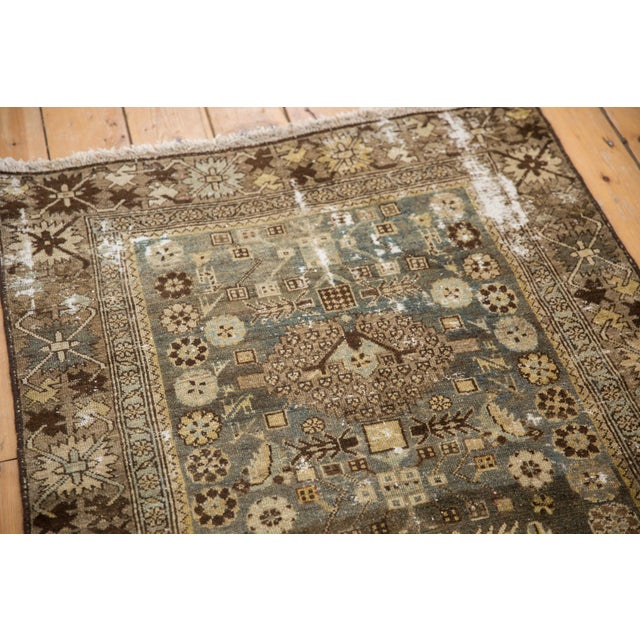 """Old New House Vintage Distressed Malayer Rug - 3'3"""" X 4'7"""" For Sale - Image 4 of 11"""