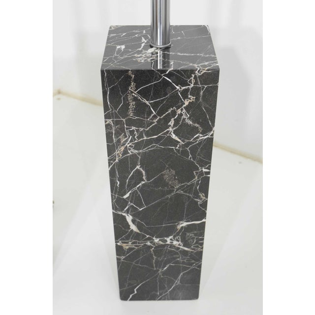 1960s Marble Table Lamps by Nessen Studio - a Pair For Sale - Image 5 of 12