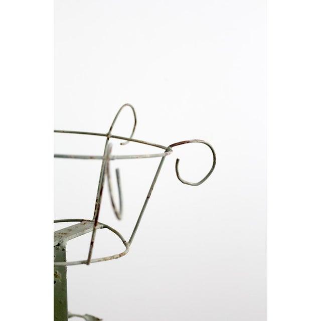 Vintage Metal Plant Stand Riser - Image 5 of 10