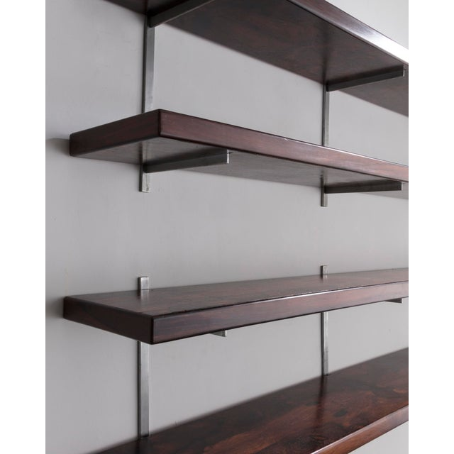 1960s Wall-mounted shelves by Sergio Rodrigues, Brazil, 1960s. For Sale - Image 5 of 5