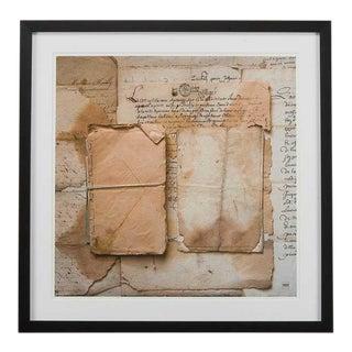 Sarreid LTD Framed Artist Edition Print For Sale