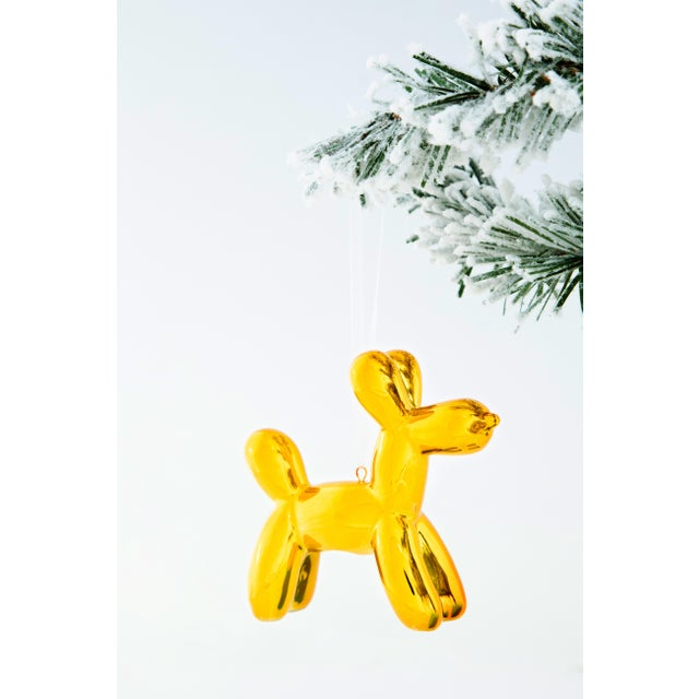 """2020s Interior Illusions Plus Holiday Balloon Dog - 3.25"""" tall - Set of 6 For Sale - Image 5 of 12"""