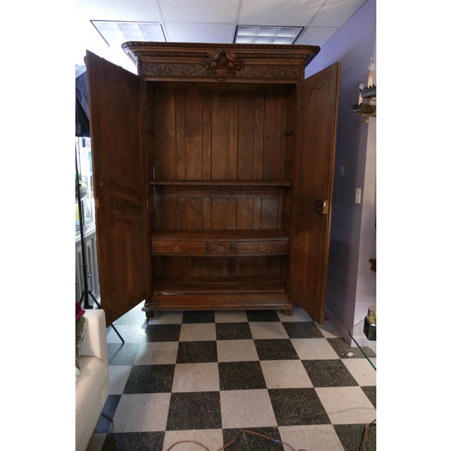 French Wedding Armoire - Image 6 of 7