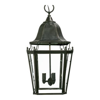 Colonial Style 8-Sided Metal Lantern