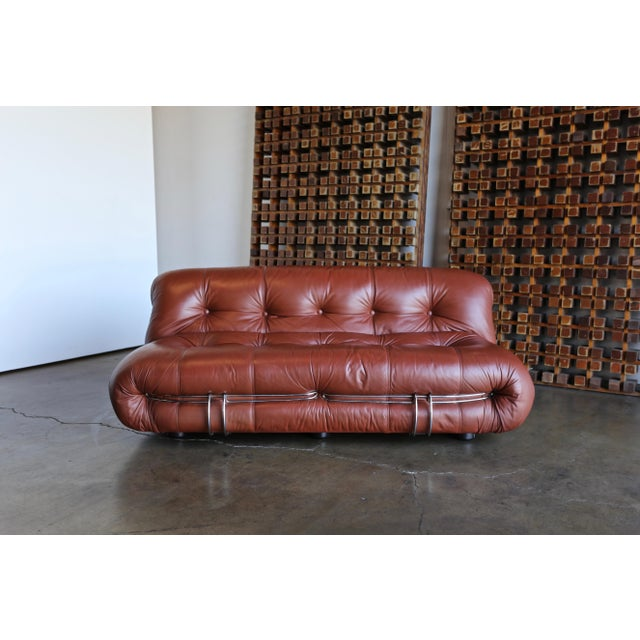 Soriana Settee by Afra & Tobia Scarpa for Cassina For Sale - Image 13 of 13