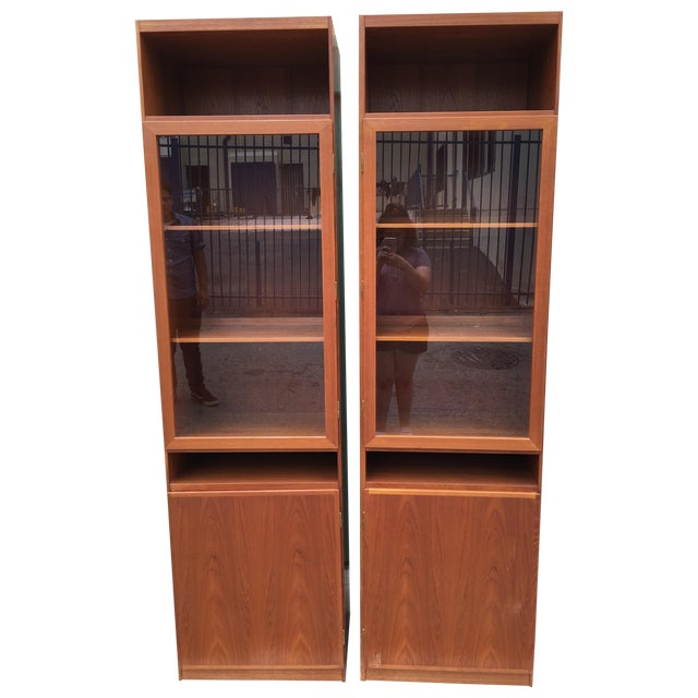 Danish Modern Bookshelves - A Pair - Image 1 of 11