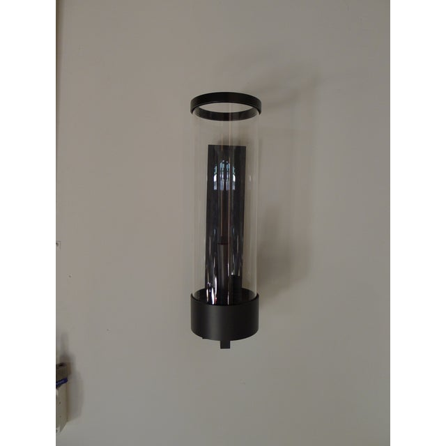 Paul Marra Contemporary Hurricane Sconces by Paul Marra For Sale - Image 4 of 7