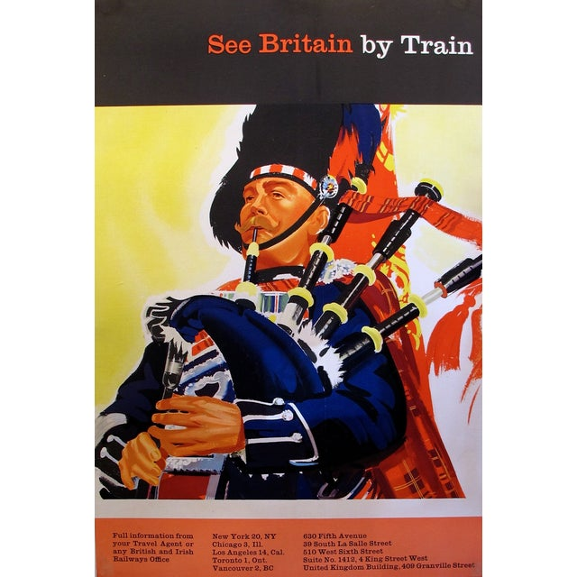 See Britain by Train, Vintage Poster C. 1960 For Sale