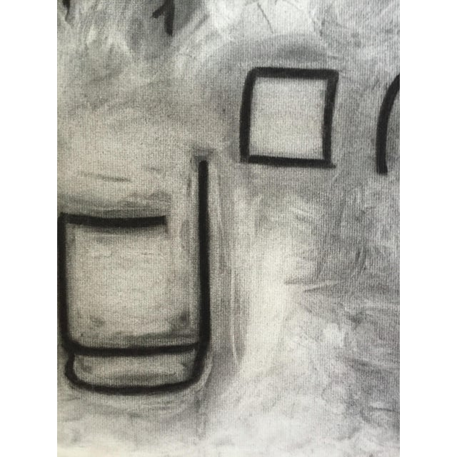"G. Turner Untitled 1978 Charcoal on Strathmore Charcoal Paper 19"" x 25 1/2"" Unframed Signed and dated in pencil lower..."